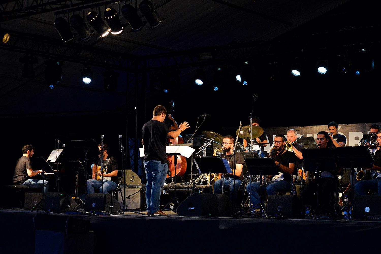 Orquestra Jazz Hot Clube at Festa do Avante 2020 © Luis M. Serrão - Portugalinews