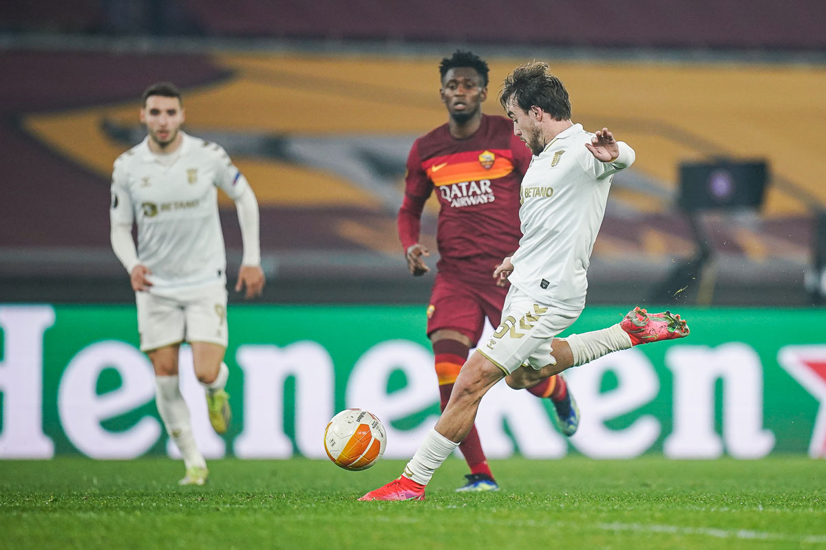 Braga loses with AS Roma for the Europa League (3-1) – ineews the best news
