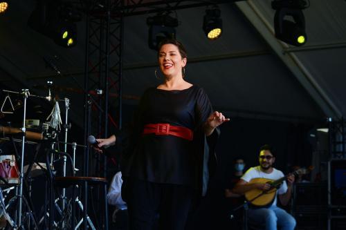 Ana Lains at Festa do Avante 2020 © Luis M. Serrão- Portugalinews (3)