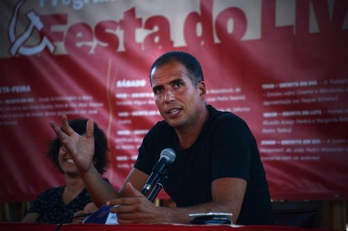 Ricardo Araújo Pereira at Festa do Avante 2020 © Luis M. Serrão - Portugalinews (2)