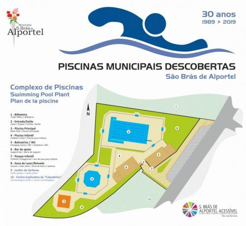 São Brás de Alportel Municipal Swimming Pool Complex